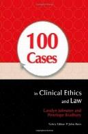 100 نفر در بالینی اخلاق و قانون100 Cases in Clinical Ethics and Law
