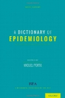 واژه نامه اپیدمیولوژیA Dictionary of Epidemiology