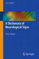 واژه نامه نشانه های عصبیA Dictionary of Neurological Signs