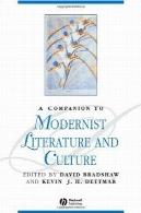 همدم به ادبیات مدرن و فرهنگA companion to modernist literature and culture