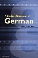 گرامر دانشجویی آلمانA Student Grammar of German