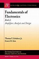 مبانی الکترونیک، کتاب 2: تقویت کننده: تجزیه و تحلیل و طراحیFundamentals of Electronics, Book 2: Amplifiers: Analysis and Design