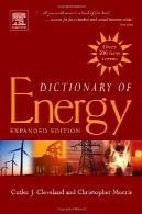 واژه نامه های انرژی: گسترده نسخهDictionary of Energy: Expanded Edition