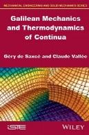 مکانیک گالیله و ترمودینامیک با زنجیرهGalilean Mechanics and Thermodynamics of Continua