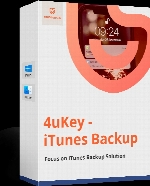 Tenorshare 4uKey iTunes Backup 5.1.1.0