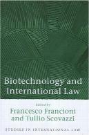 بیوتکنولوژی و حقوق بین الملل (مطالعات در حقوق بین الملل)Biotechnology And International Law (Studies in International Law)