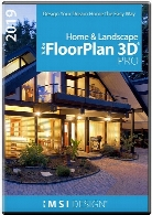 IMSI TurboFloorPlan 3D Home and Landscape Pro 2019 v20.0